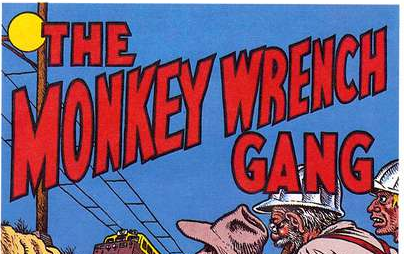 Book: The Monkey Wrench Gang (Edward Abbey)