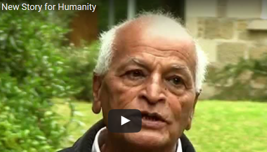 Video: Satish Kumar – A New Story for Humanity (Interview)
